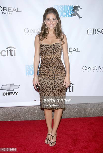 Maria Menounos during Conde Nast Media Group Kicks Off New York Fall Fashion Week with 3rd Annual Fashion Rocks Concert at Radio City Music Hall...