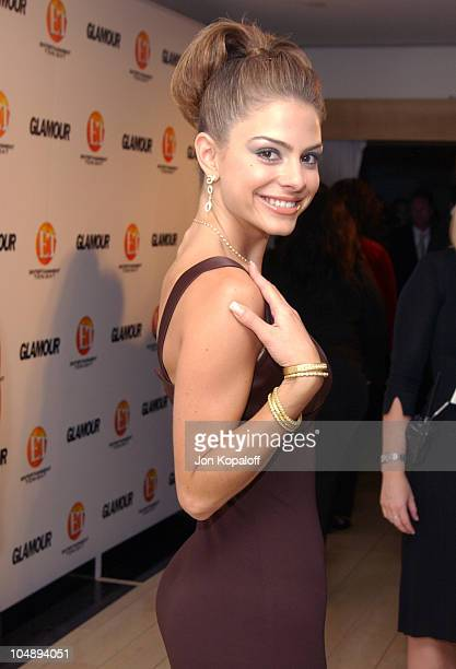 Maria Menounos during Entertainment Tonight Glamour Magazine Celebrate The 55th Annual Emmy Awards at Mondrian Hotel in West Hollywood California...