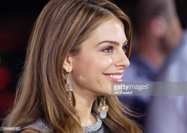 Maria Menounos during 'Kill Bill Vol1' Hollywood Premiere at Grauman's Chinese Theater in Hollywood California United States