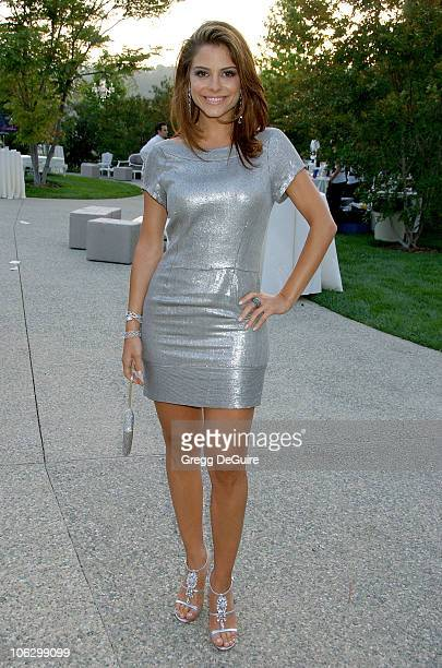 Maria Menounos during Sixth Annual Chrysalis Butterfly Ball Arrivals at Home of Susan Harris Hayward Kaiser in Mandeville Canyon California United...