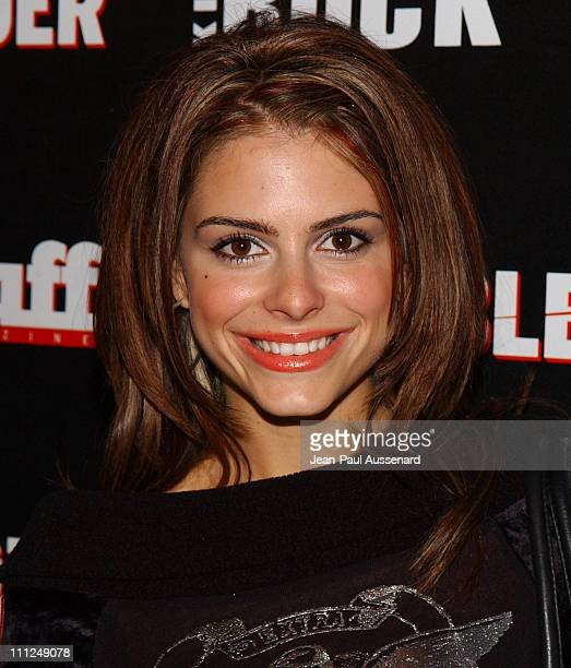 Maria Menounos during STUFF Magazine and Blender Host Kid Rock's After Party For The 2003 American Music Awards Red Carpet/Inside at Forbidden City...