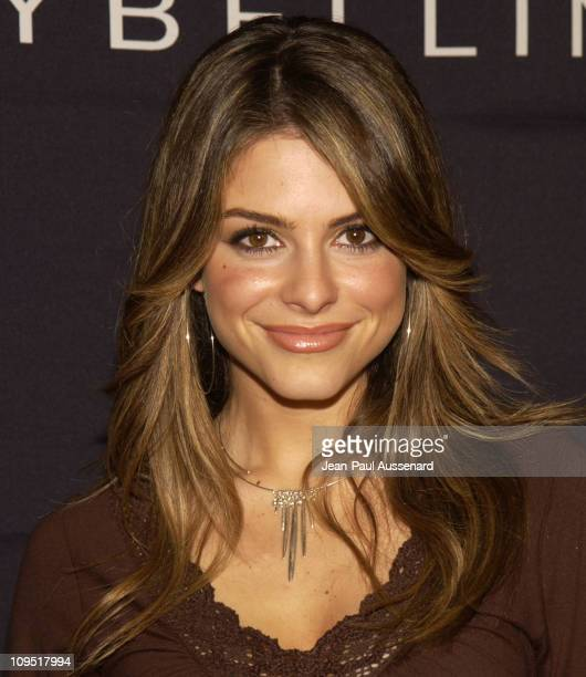 Maria Menounos during Teen People and Universal Records Honor Nelly as the 2002 Artist of the Year Arrivals at Ivar in Hollywood California United...