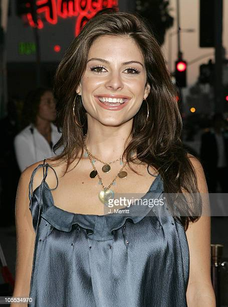 Maria Menounos during 'The 40YearOld Virgin' Los Angeles Premiere Arrivals at ArcLight Theatre in Los Angeles California United States