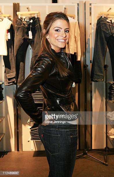 Maria Menounos during The Levi's Fit Event featuring Celebrity Stylist Jessica Paster at Levi's Store San Francisco in San Francisco CA United States