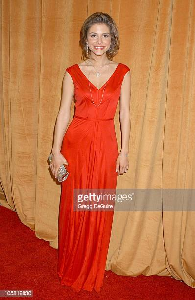 Maria Menounos during The Weinstein Co/Glamour 2006 Golden Globe After Party Arrivals at Trader Vic's in Beverly Hills California United States
