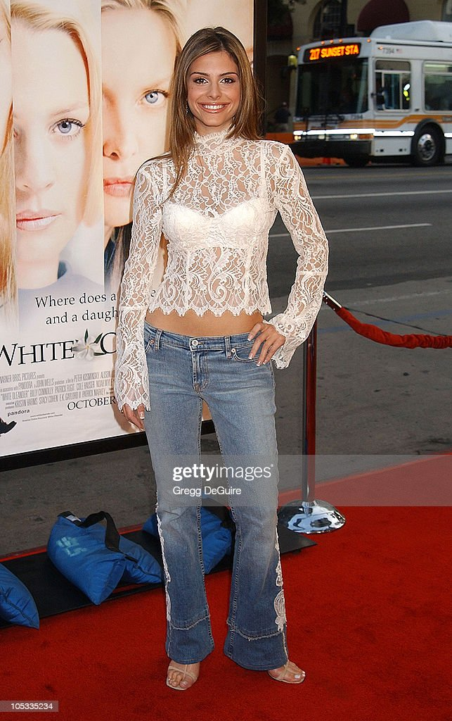 Maria Menounos during 'White Oleander' Premiere - Los Angeles at Grauman's Chinese Theatre in Hollywood, California, United States.
