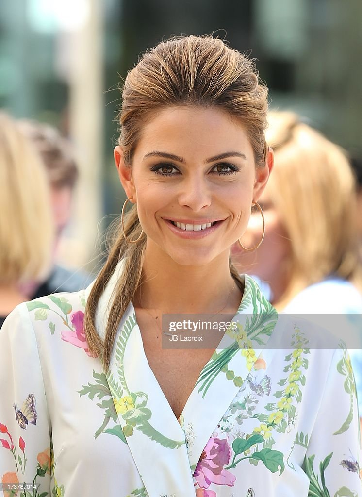Maria Menounos is seen at The Grove on July 17, 2013 in Los Angeles, California.