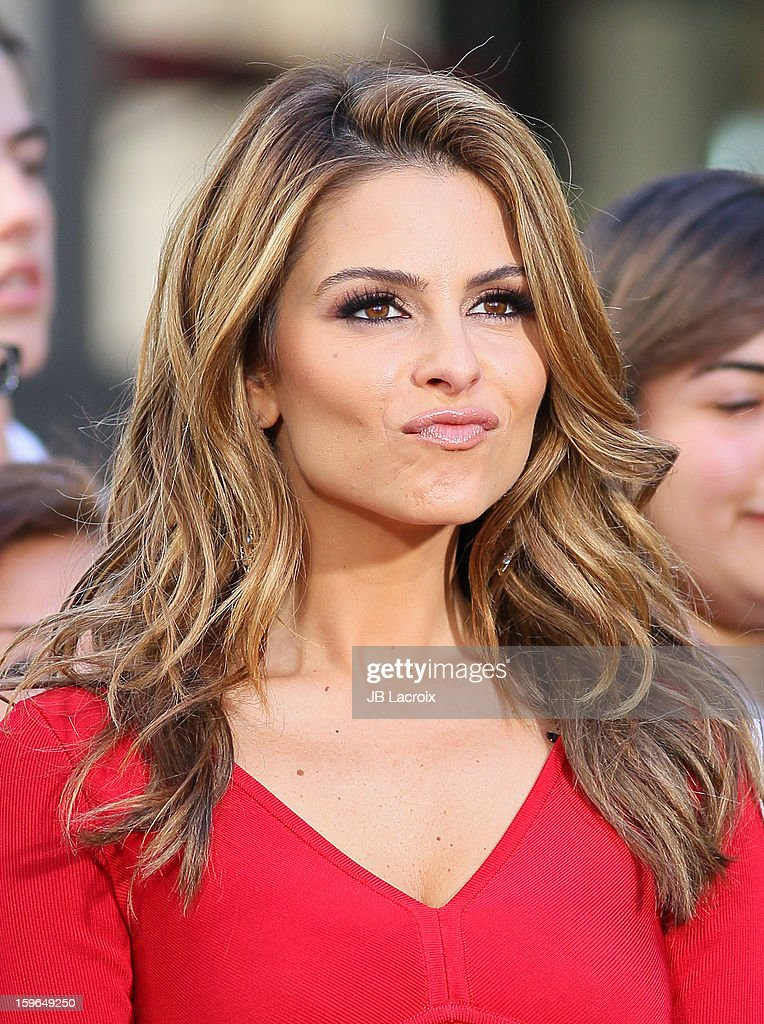 <a gi-track='captionPersonalityLinkClicked' href=/galleries/search?phrase=Maria+Menounos&family=editorial&specificpeople=203337 ng-click='$event.stopPropagation()'>Maria Menounos</a> is seen on January 17, 2013 in Los Angeles, California.