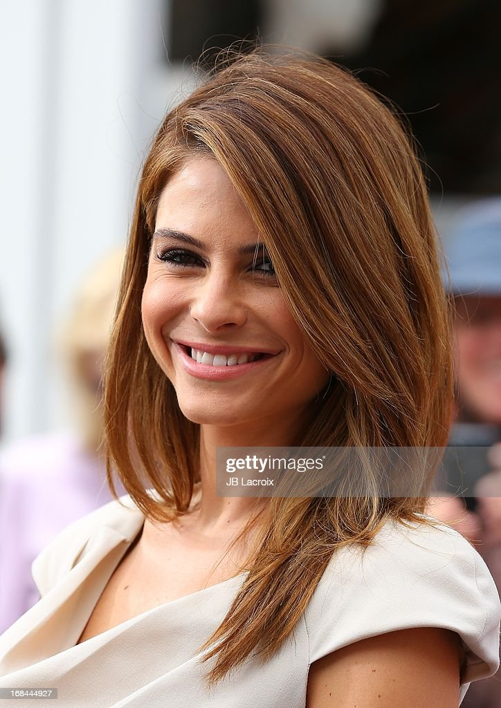 Maria Menounos is seen on May 9, 2013 in Los Angeles, California.