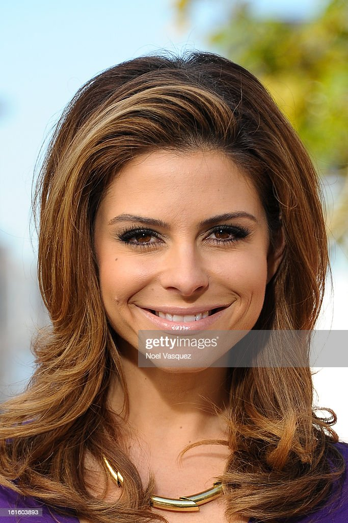 <a gi-track='captionPersonalityLinkClicked' href=/galleries/search?phrase=Maria+Menounos&family=editorial&specificpeople=203337 ng-click='$event.stopPropagation()'>Maria Menounos</a> visits Extra at The Grove on February 12, 2013 in Los Angeles, California.