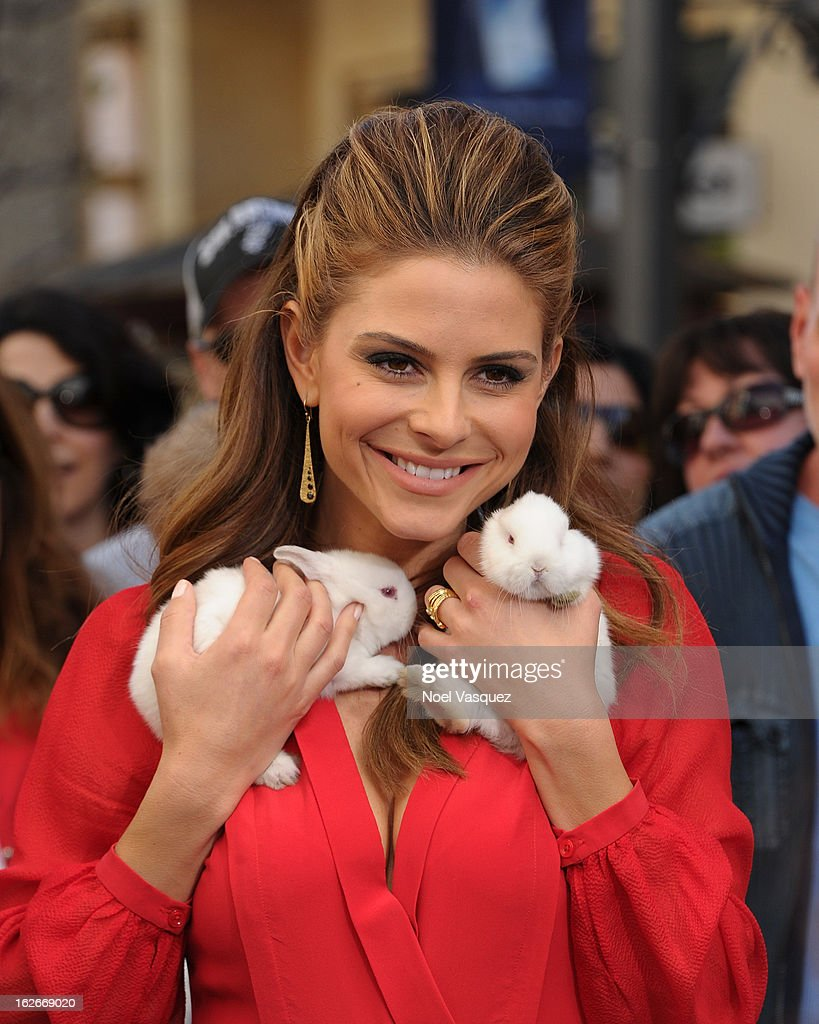 <a gi-track='captionPersonalityLinkClicked' href=/galleries/search?phrase=Maria+Menounos&family=editorial&specificpeople=203337 ng-click='$event.stopPropagation()'>Maria Menounos</a> visits Extra at The Grove on February 25, 2013 in Los Angeles, California.