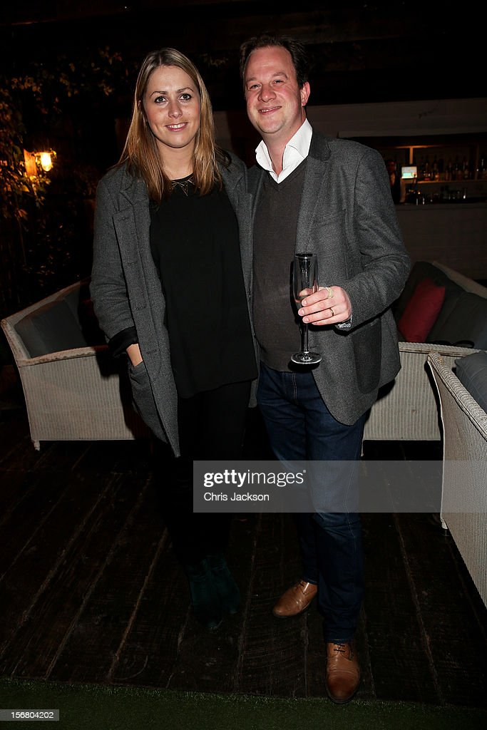 Maria O'Sullivan and Ben Taylor attend the Vodafone Fashionable Pub Quiz at Shoreditch House on November 21, 2012 in London, United Kingdom. As Principal Sponsor of London Fashion Week, the quiz celebrated Vodafone's commitment to British Fashion.