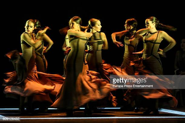 Maria Pages performs 'Yo Carmen' during Flamenco Bienal on September 14 2016 in Seville Spain