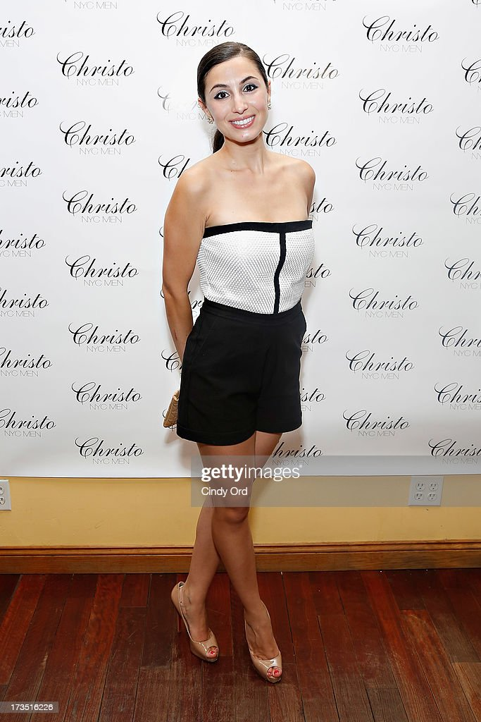 Maria Pardalis attends the Christo Men NYC Press Preview at Christo Fifth Ave on July 15, 2013 in New York City.
