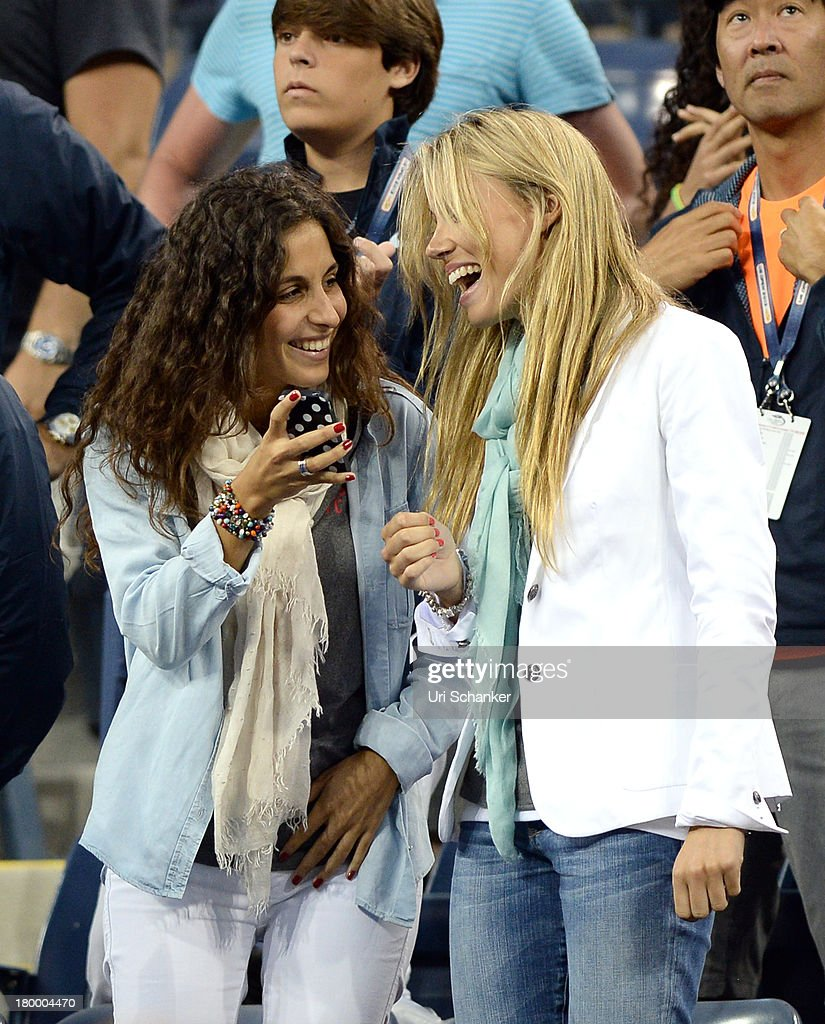 Maria Perello and Maria Isabel Nadal attend the 2013 US Open at USTA Billie Jean King National Tennis Center on September 7, 2013 in New York City.