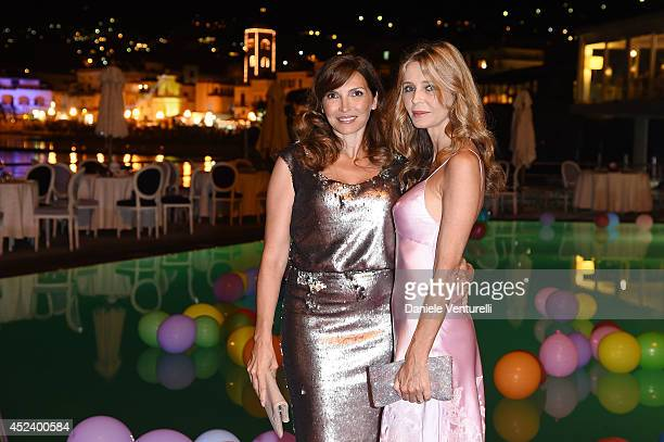 Maria Pia Calzone and Eliana Miglio attend Day 8 of Ischia Global Film Music Fest 2014 on July 19 2014 in Ischia Italy
