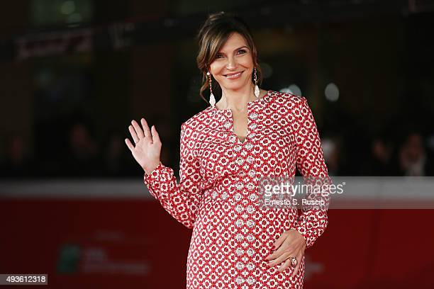 Maria Pia Calzone attends a red carpet for 'Dobbiamo Parlare' during the 10th Rome Film Fest on October 21 2015 in Rome Italy
