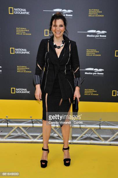 Maria Pia Calzone attends National Geographic's 'Genius Einstein' photocall on May 10 2017 in Rome Italy