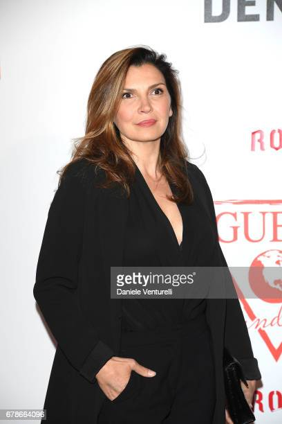 Maria Pia Calzone attends the Guess Foundation Denim Day 2017 at Palazzo Barberini on May 4 2017 in Rome Italy