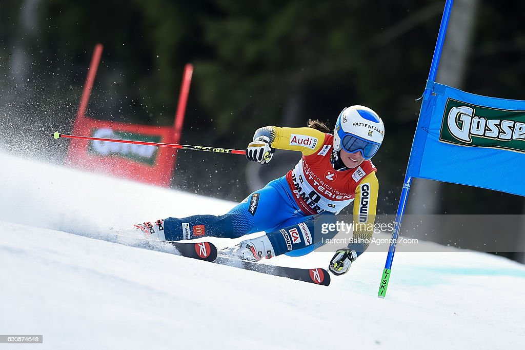 Maria Pietilae-holmner of Sweden competes during the Audi FIS Alpine Ski World Cup Women's Giant Slalom on December 27, 2016 in Semmering, Austria