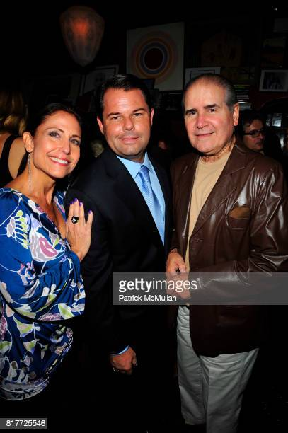 Maria Pope Kessel Paul David Pope and Judge Eddie Torres attend THE DEEDS OF MY FATHERS by Paul David Pope New York book launch at Elaine's on...