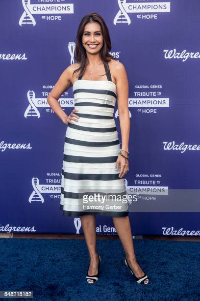 Maria Quiban attends the Global Genes' 6th Annual Tribute To Champions Of Hope Awards at City National Grove of Anaheim on September 16 2017 in...