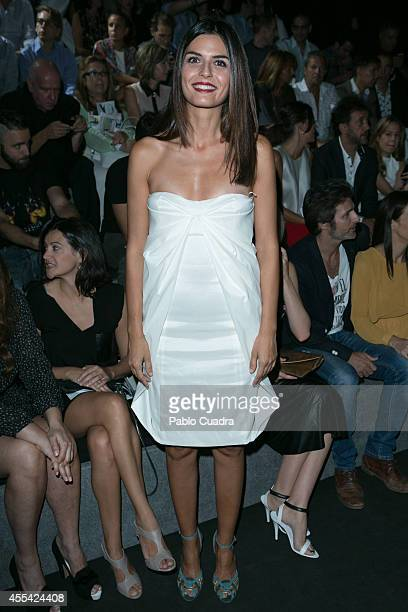 Maria Reyes attends Mercedes Benz Fashion Week Madrid at Ifema on September 14 2014 in Madrid Spain