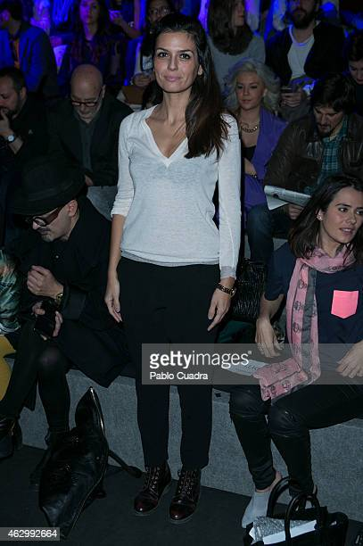 Maria Reyes attends the catwalks during Madrid Fashion Week Fall/Winter 2015/16 at Ifema on February 8 2015 in Madrid Spain