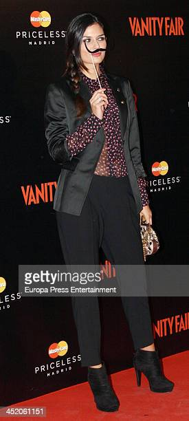 Maria Reyes attends the 'Cocktail Surrealista' by Vanity Fair Magazine at Thyssen Museum on November 25 2013 in Madrid Spain