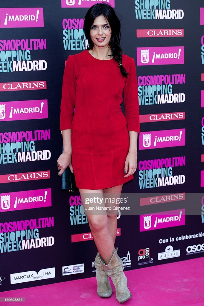 Maria Reyes attends the 'Cosmopolitan Shopping Week' party at the Plaza de Callao on May 28, 2013 in Madrid, Spain.