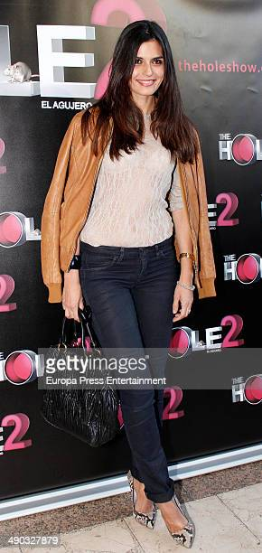 Maria Reyes attends 'The Hole 2' closing party photocall on May 13 2014 in Madrid Spain