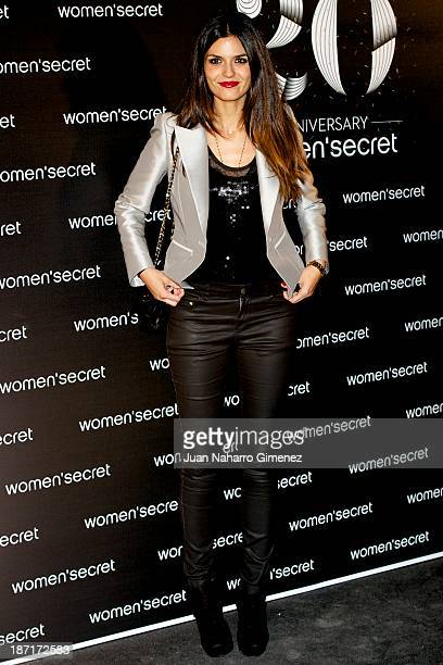 Maria Reyes attends Women'secret New Collection presentation 20th anniversary at Botanic Garden on November 6 2013 in Madrid Spain