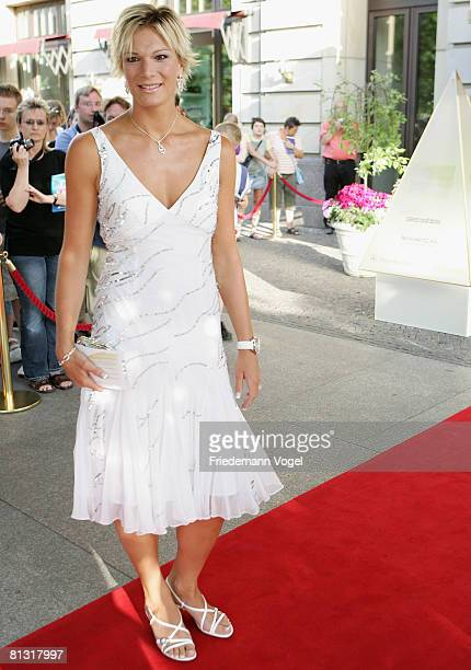 Maria Riesch attends the 'Goldene Sportpyramide Award' at the Adlon Hotel on May 31 2008 in Berlin Germany
