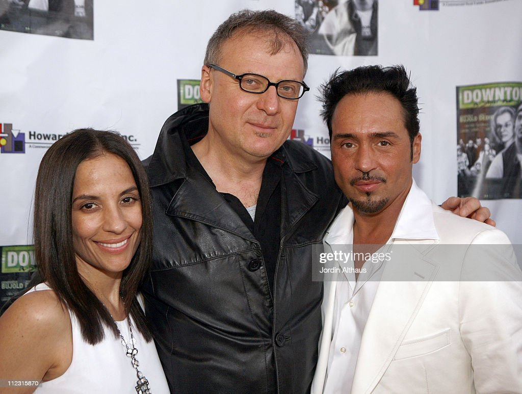 <a gi-track='captionPersonalityLinkClicked' href=/galleries/search?phrase=Maria+Rita&family=editorial&specificpeople=2083259 ng-click='$event.stopPropagation()'>Maria Rita</a> Caso, Rafal Zielinski and Joey Dedio during 'Downtown: A Street Tale' Hollywood Premiere at Laemmle Sunset 5 in Hollywood, California, United States.
