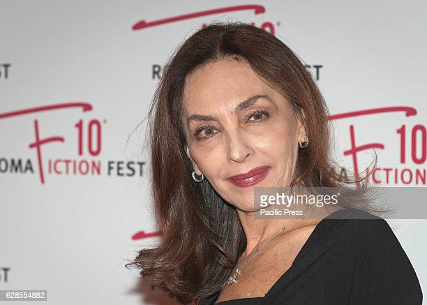 Maria Rosaria Omaggio attend at the Red Carpet of 'In art Nino' presented at the Roma Fiction Fest 2016