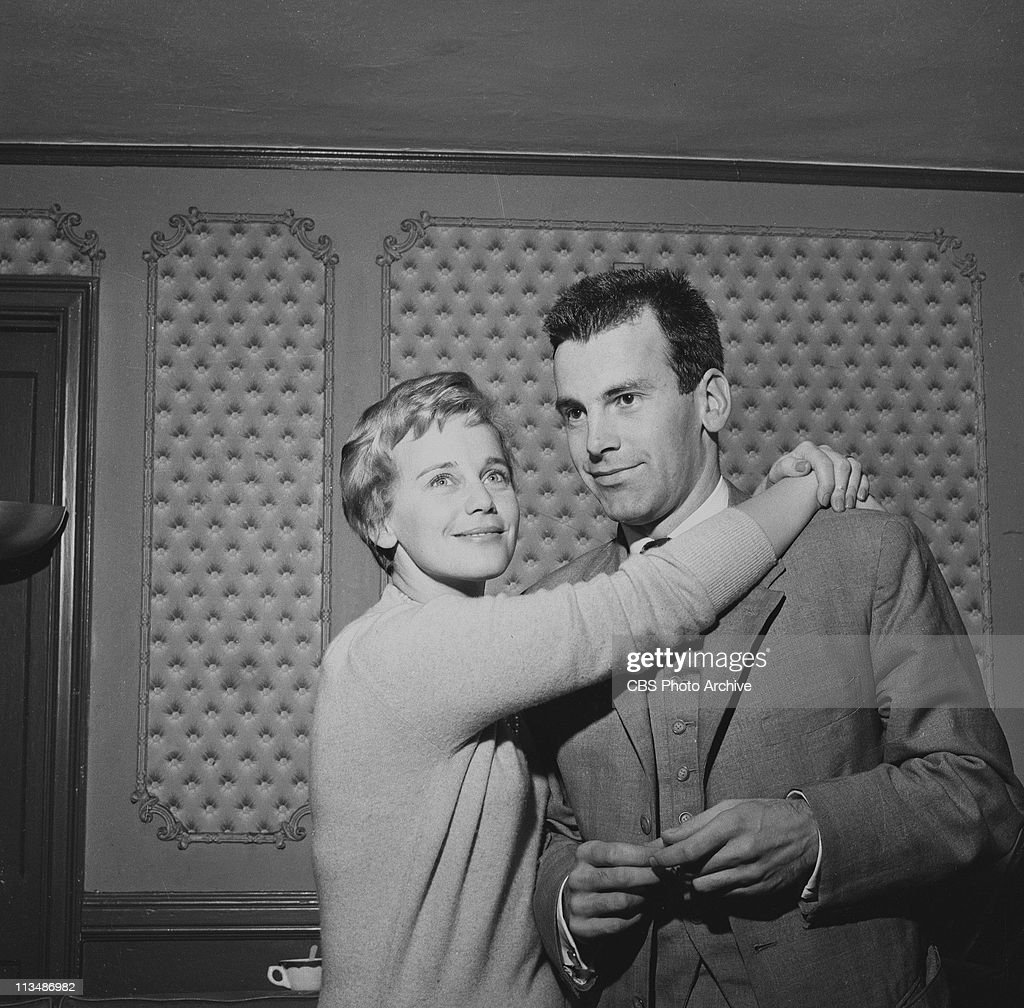 Maria Schell and her brother Maximillian Schell for 'For Whom The Bell Tolls' on PLAYHOUSE 90. Image dated February 11, 1959.