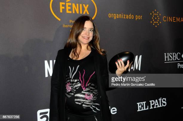 Maria Secco poses during Fenix Iberoamerican Film Awards 2017 at Teatro de La Ciudad on December 06 2017 in Mexico City Mexico
