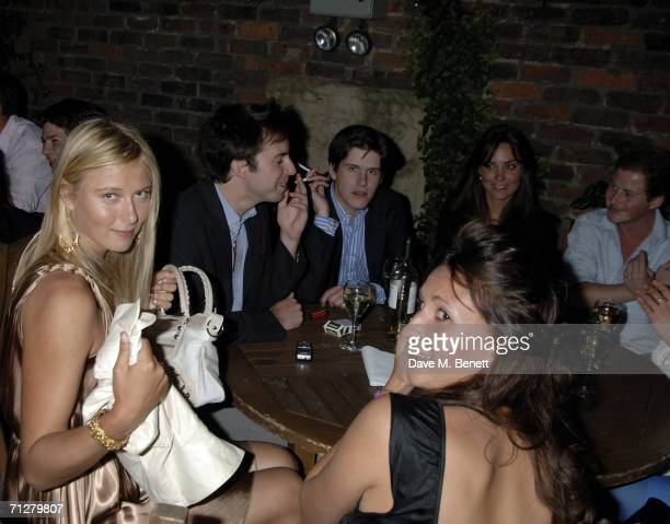 Maria Sharapova and Kate Middleton with guests attend the Sony Ericsson WTA Tour's preWimbledon party hosted by Sir Richard Branson of Virgin at The...