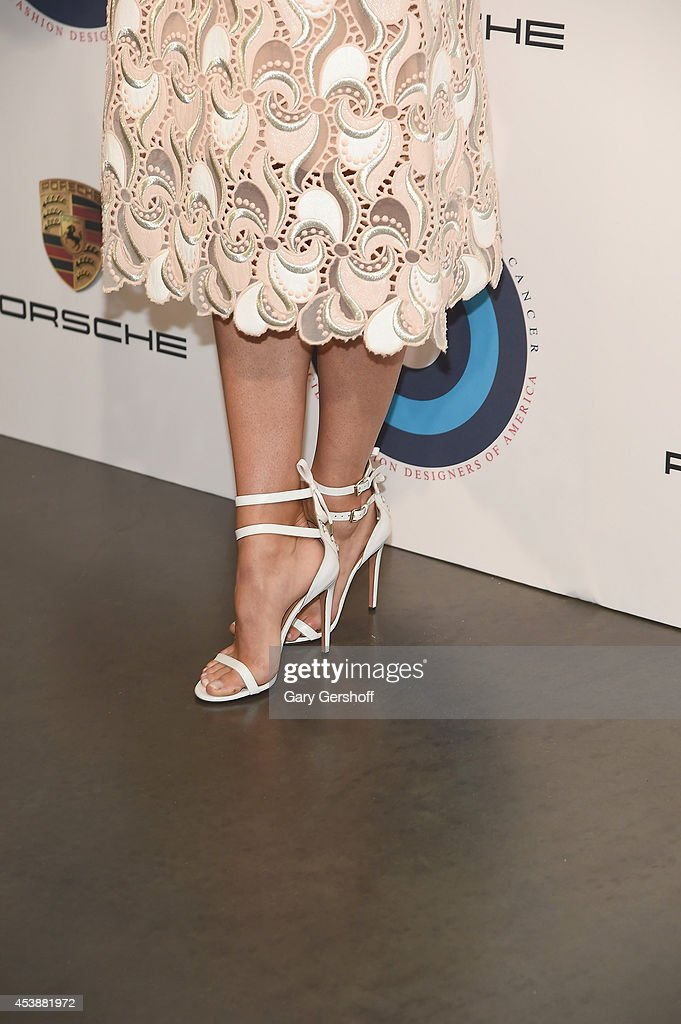 <a gi-track='captionPersonalityLinkClicked' href=/galleries/search?phrase=Maria+Sharapova&family=editorial&specificpeople=157600 ng-click='$event.stopPropagation()'>Maria Sharapova</a> (shoe detail) attends Fashion Targets Breast Cancer at The New Museum on August 20, 2014 in New York City.