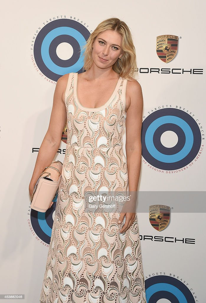 <a gi-track='captionPersonalityLinkClicked' href=/galleries/search?phrase=Maria+Sharapova&family=editorial&specificpeople=157600 ng-click='$event.stopPropagation()'>Maria Sharapova</a> attends Fashion Targets Breast Cancer at The New Museum on August 20, 2014 in New York City.