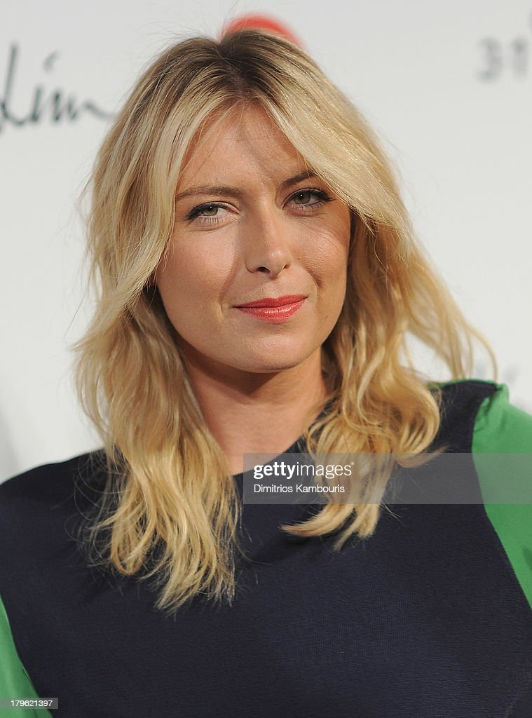 Maria Sharapova attends the 3.1 Phillip Lim for Target Launch Event at Spring Studio on September 5, 2013 in New York City.