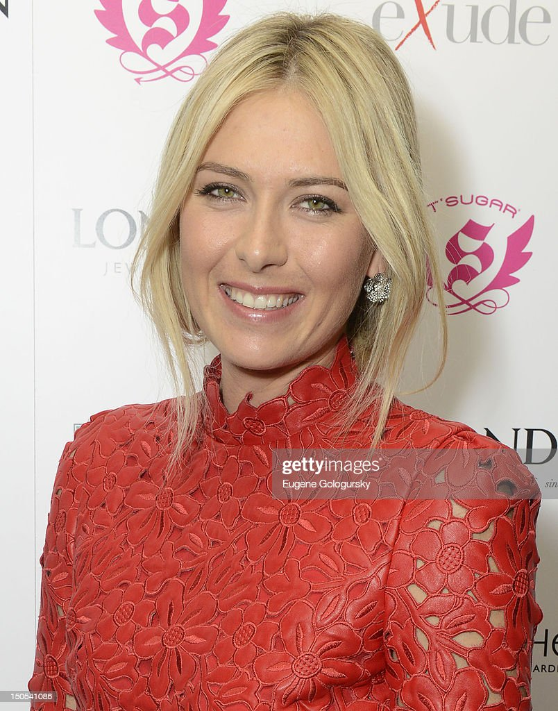 Maria Sharapova attends the Hamptons Magazine celebration with cover star Maria Sharapova at the Haven Rooftop at the Santcuary Hotel on August 20, 2012 in New York City.