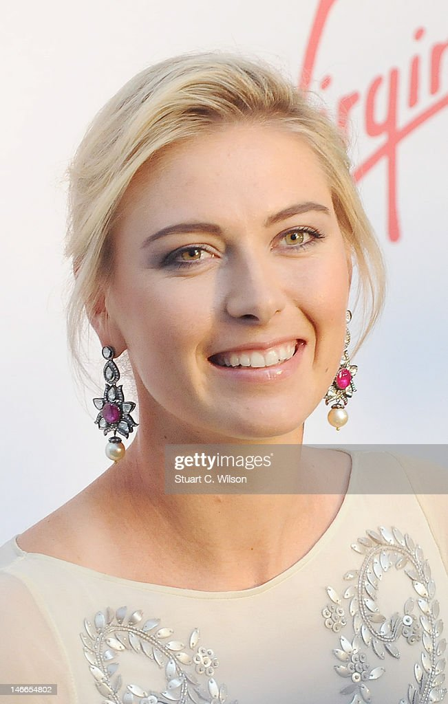 <a gi-track='captionPersonalityLinkClicked' href=/galleries/search?phrase=Maria+Sharapova&family=editorial&specificpeople=157600 ng-click='$event.stopPropagation()'>Maria Sharapova</a> attends the Pre-Wimbledon Party at Kensington Roof Gardens on June 21, 2012 in London, England.