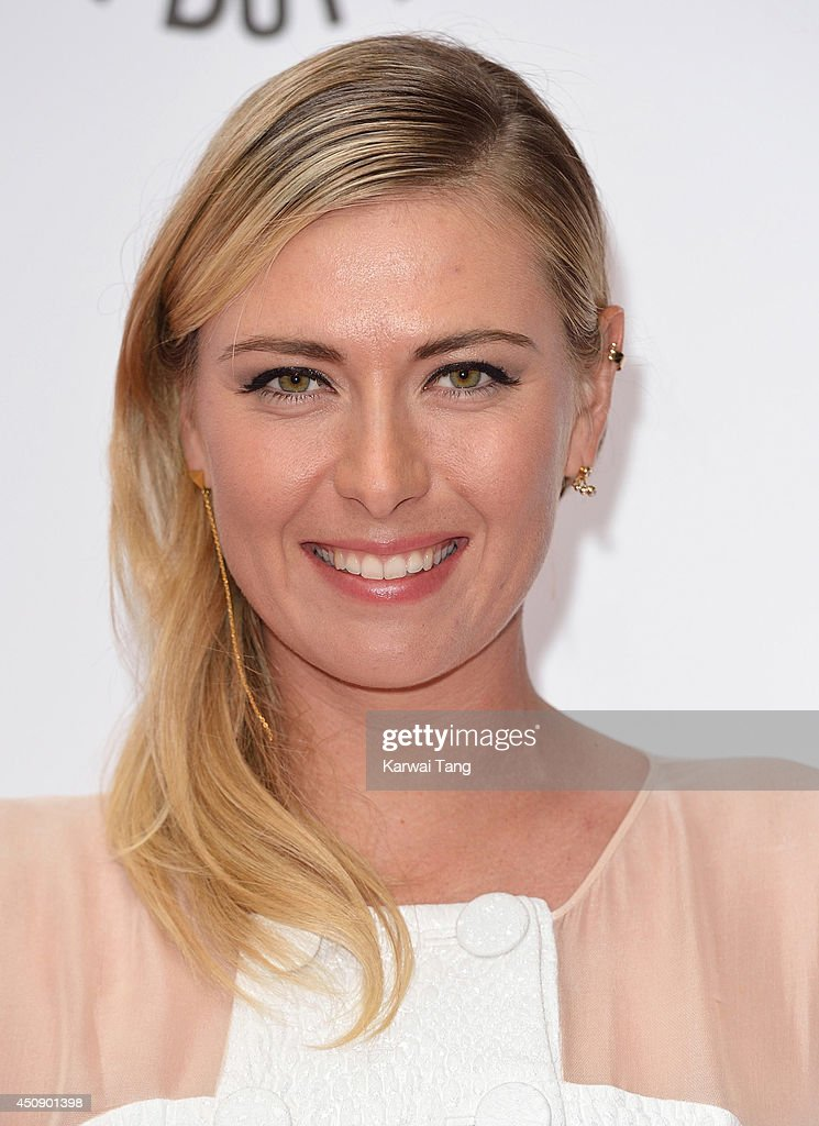 <a gi-track='captionPersonalityLinkClicked' href=/galleries/search?phrase=Maria+Sharapova&family=editorial&specificpeople=157600 ng-click='$event.stopPropagation()'>Maria Sharapova</a> attends the WTA Pre-Wimbledon party at Kensington Roof Gardens on June 19, 2014 in London, England.