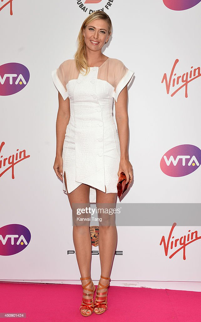 Maria Sharapova attends the WTA Pre-Wimbledon party at Kensington Roof Gardens on June 19, 2014 in London, England.