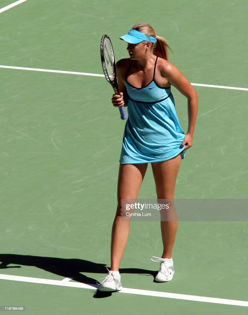 2006 Australian Open Womens Singles - Quarter Finals - Maria Sharapova vs.