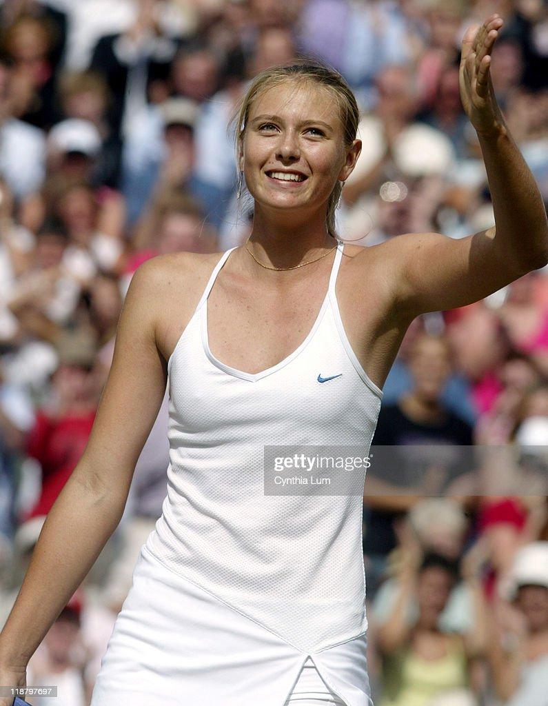 2004 Wimbledon Championships - Ladies Singles - Semifinals  - Maria Sharapova