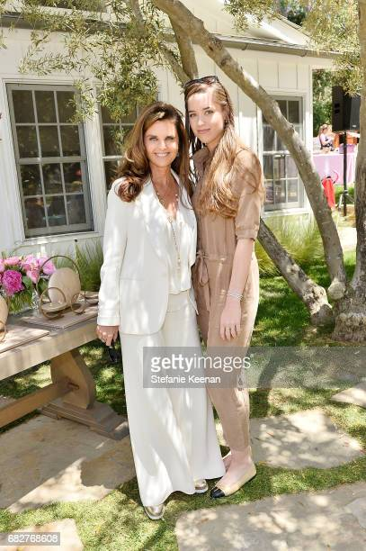 Maria Shriver and Christina Schwarzenegger attend Cindy Crawford and Kaia Gerber host Best Buddies Mother's Day Brunch in Malibu CA sponsored by...
