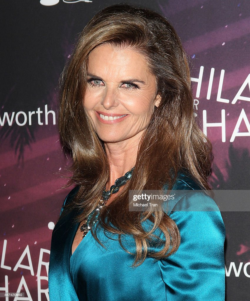 Maria Shriver arrives at the Hilarity For Charity's 3rd Annual Los Angeles HFC Variety Show held at Hollywood Palladium on October 17 2014 in...