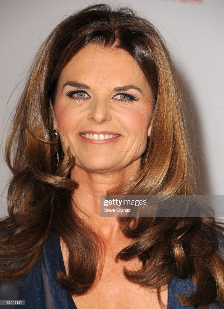 Maria Shriver arrives at the The Hollywood Reporter's Women In Entertainment Breakfast Honoring Oprah Winfrey at Beverly Hills Hotel on December 11, 2013 in Beverly Hills, California.